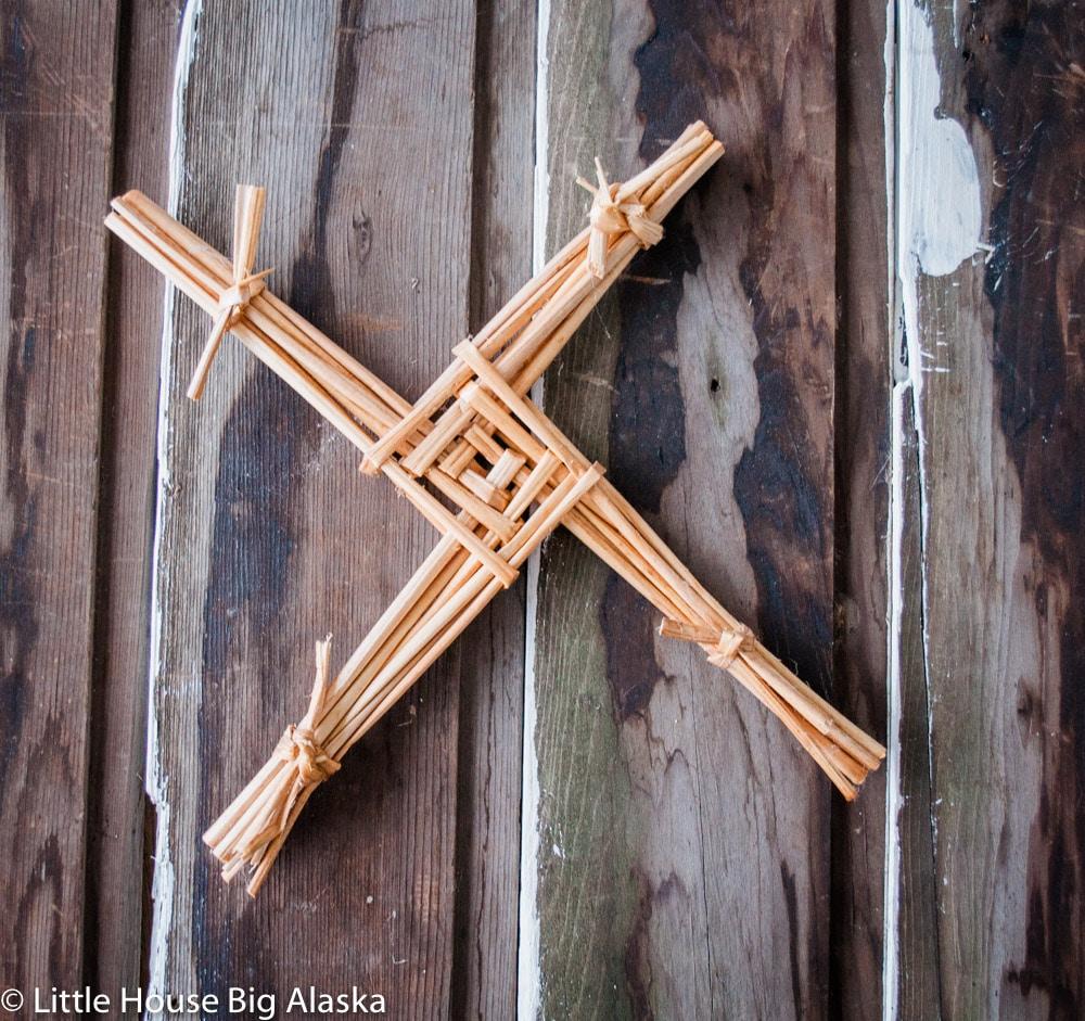 St. Brigid Cross by Palmer Folk School