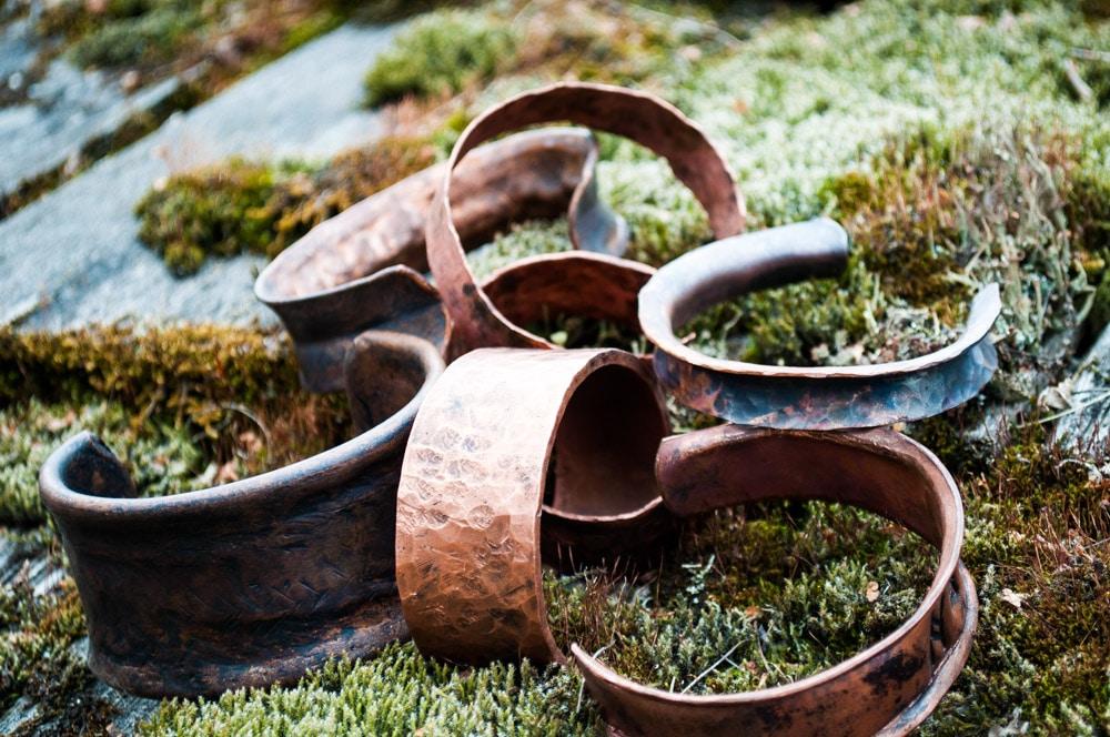 Palmer Folk School Copper Bracelets